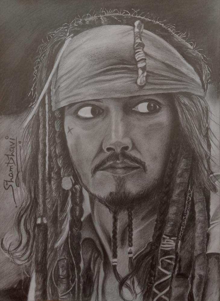 Johnny Depp por Shambhavi